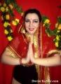 Фото участниц с мастер-класса по индийскому макияжу-6